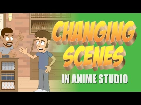 Creating different scenes and camera positions in Anime Studio- MOHO 12