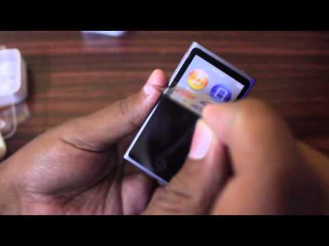 Apple iPod Nano 7th Generation Space Grey: Unboxing and Hands on (INDIA)