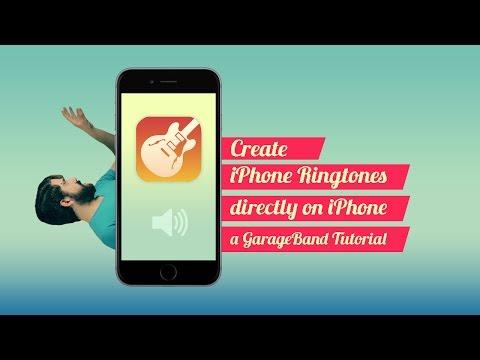 Create iPhone Ringtones, On iPhone (GarageBand tutorial)