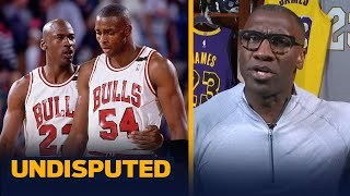 Shannon explains snitching allegations between MJ and Horace Grant | NBA | UNDISPUTED