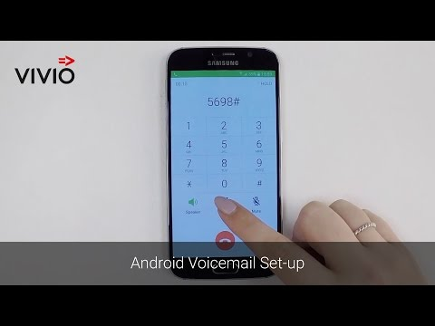 Android Voicemail Set-up