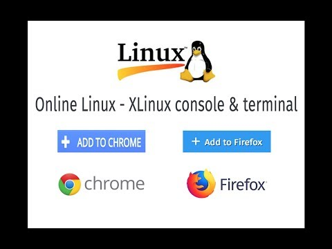 How to Run Linux/Unix Terminal on Browsers? | Extensions for Chrome & Firefox !! FREE FREE !!