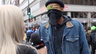 RAW: Violent anti-Trump protest near Inauguration