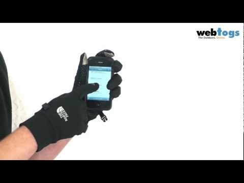 The North Face Etip Gloves - Use your touchscreen whilst hands keep warm!