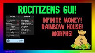 Rocitizens Script Hack Infinite Money Steal Houses