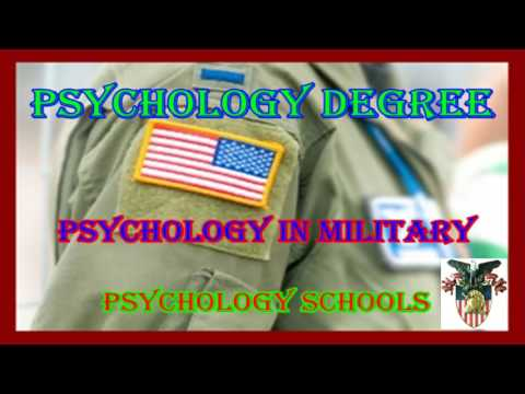 Psychology Degree / Psychology In Military / Online Universities