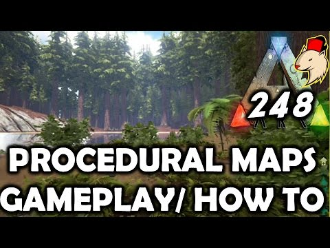Ark Update 248  Proceduraly Generated Maps / First Gameplay