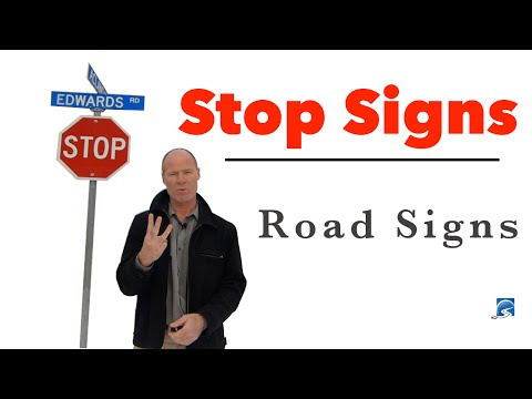 Stop at the Correct Position at a STOP Signed Intersection
