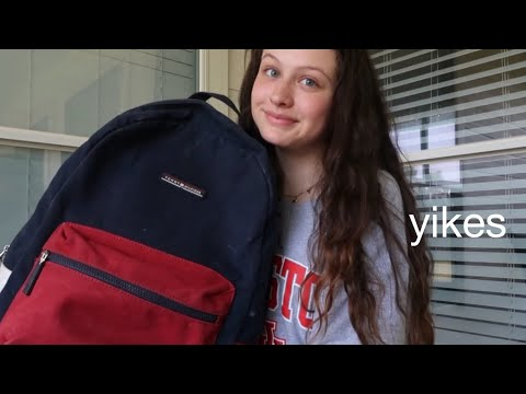 WHATS IN MY BACKPACK: END OF YEAR