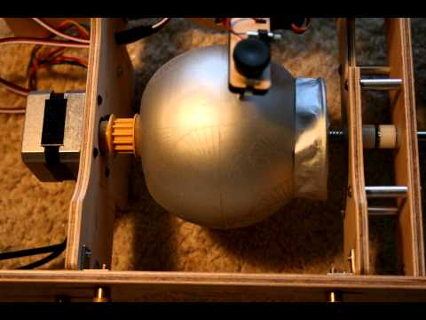Eggbot Engraving A Candle
