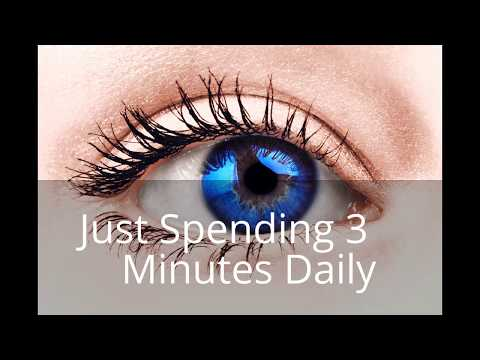 GET BLUE EYES IN 10 DAYS JUST SPENDING 3 MINUTES DAILY