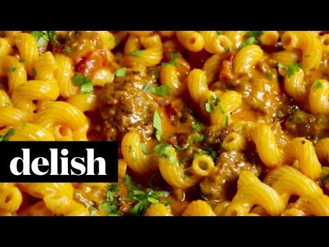 Cheesy Taco Pasta | Delish