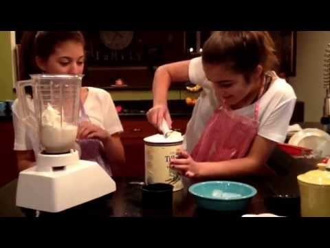 Diy Starbucks vanilla bean frappuccino - first video!