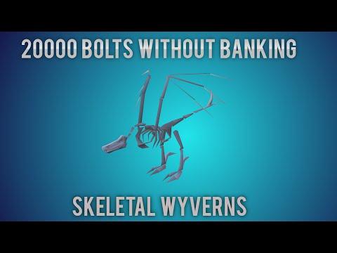 [OSRS] 20k Bolts Used At Skeletal Wyverns - Poor to Godswords - Ep. 13