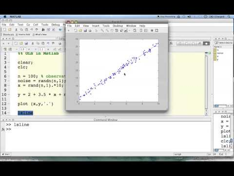 MATLAB Linear regression in less than 5 minutes