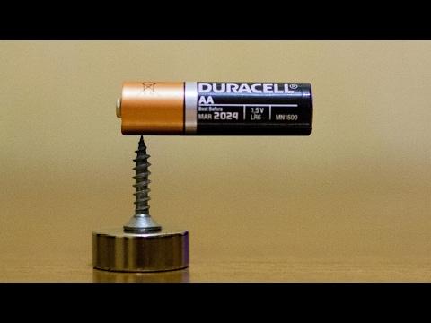 Magic tricks with magnets - Part 1 - Homopolar motor