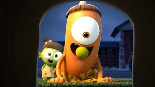 Funny Animated Cartoon | Spookiz | Fetch! | 스푸키즈 | Cartoon For Children | Kids Movies