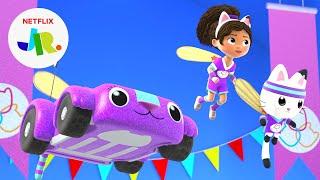 Meow-Mazing Games: Teamwork Challenge Tiebreaker ✨ Gabby's Dollhouse   Netflix Jr