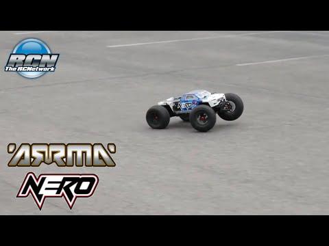 Arrma Nero 6S BLX - Running on Asphalt - Locked Diffs!