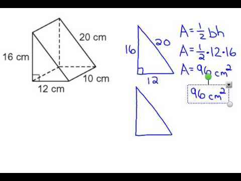 Triangular Prism Surface Area
