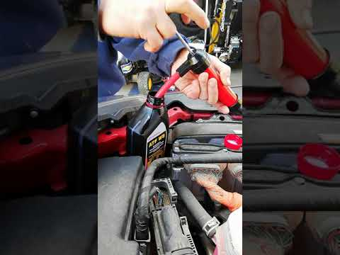 The Easiest yet method Prius transmission fluid change