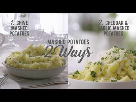Perfect Mashed Potatoes 2 Ways
