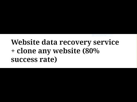 How to recover hacked website data ll quick fix ll service