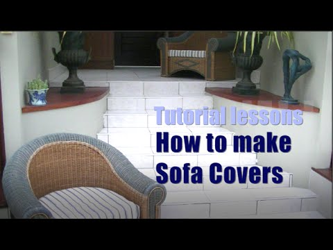 How to make Sofa Cushion Covers