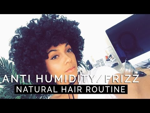 Anti Humidity/Frizz Natural Hair Routine||WASH DAY + 2 STYLES!