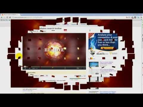 How to Remove Babylon search toolbar Updated