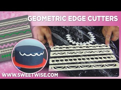 Geometric Edge Cutters by www SweetWise com