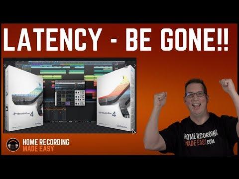 Presonus Studio One - Fix Latency, Crackles, Pops & Noise - HomeRecordingMadeEasy.com