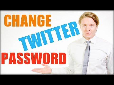 How to change Twitter password 2016  - Tutorial