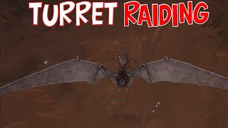 RAIDING OUR FIRST TURRET BASE -  MTS - ARK DUO PVP