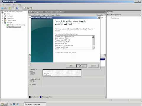 Configuring Failover Cluster in Windows Server 2008