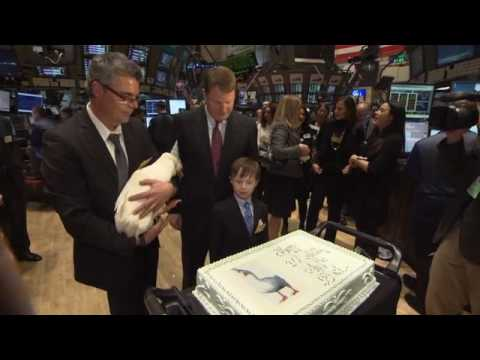 NYSE Closing Bell Aflac Bell Edit