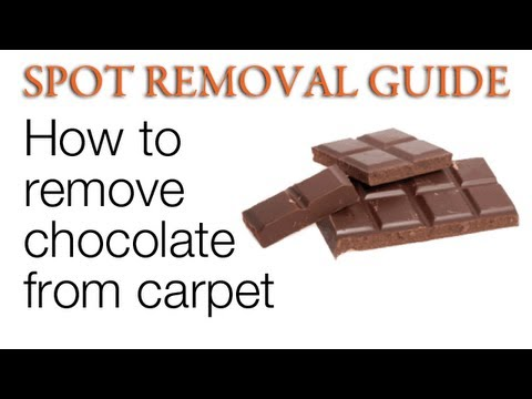 How to Get Chocolate Out of Carpet | Spot Removal Guide