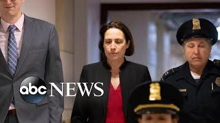 Ex-White House aide testifies in impeachment inquiry l ABC News
