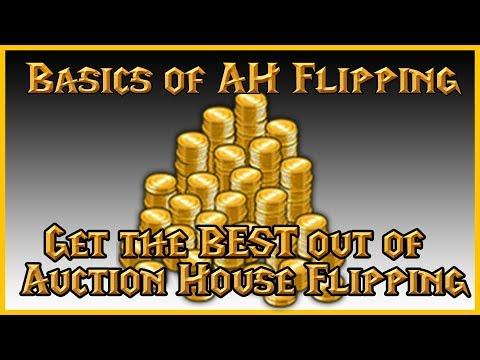 Basics of Auction House Flipping & Guide for Making Gold with it in World of Warcraft