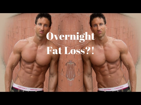 5 Minute Bedtime Fat Burning Workout | Overnight Weight Loss!