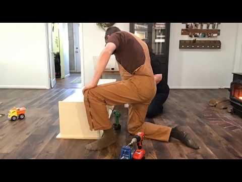 Building the MUDROOM Bench