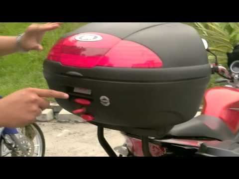 Yamaha FZ150i : Givi Monolock E450