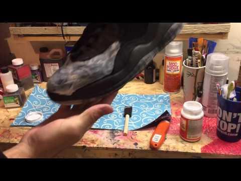 Custom Glitter Jordan's