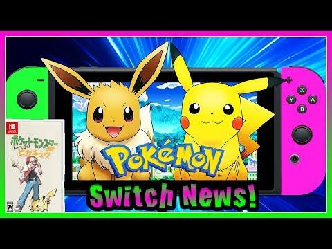 NEW POKEMON SWITCH GAME! Back To Kanto? Pokémon Go Eevee & Pokémon Go Pikachu! @Poijz