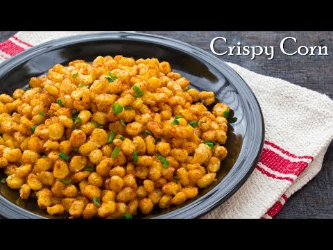Easiest Crispy Corn Recipe | Chatpata Crispy Corn | Tea Time Snack ~ The Terrace Kitchen