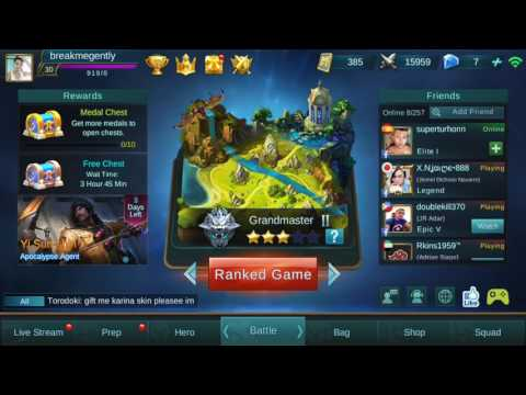 Buy diamonds in Mobile Legends