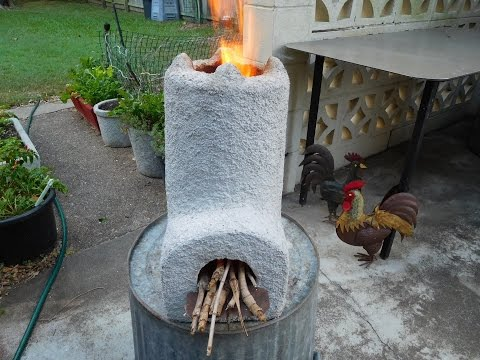 Make a Rocket Stove for $5