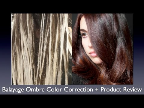 Balayage Ombre Color Correction Hair Painting