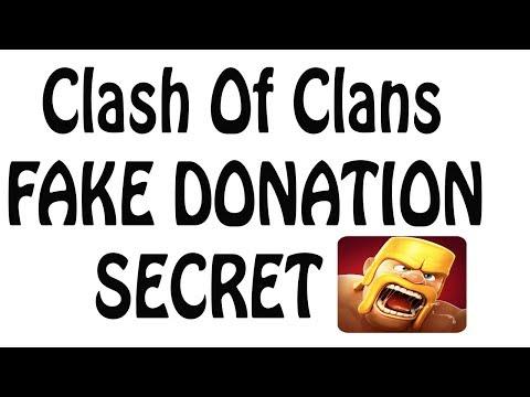 Clash Of Clans fake donation secret (HINDI)