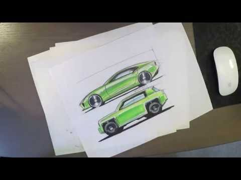 Industrial design sketching - How to sketch ellipses
